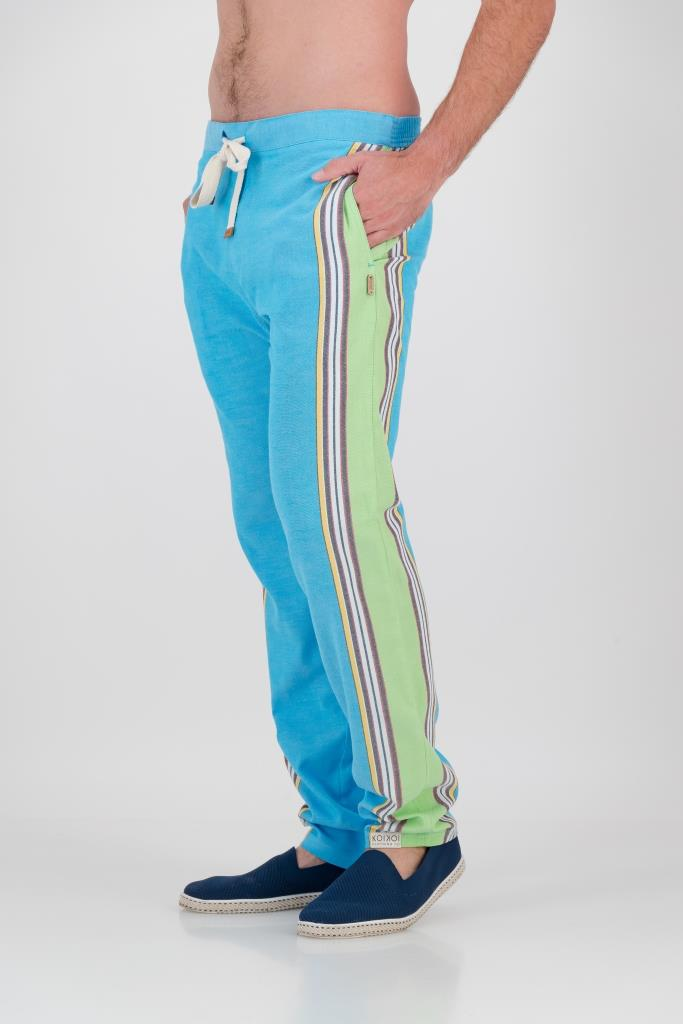 Tailored Fit Trousers - Earthy Blue