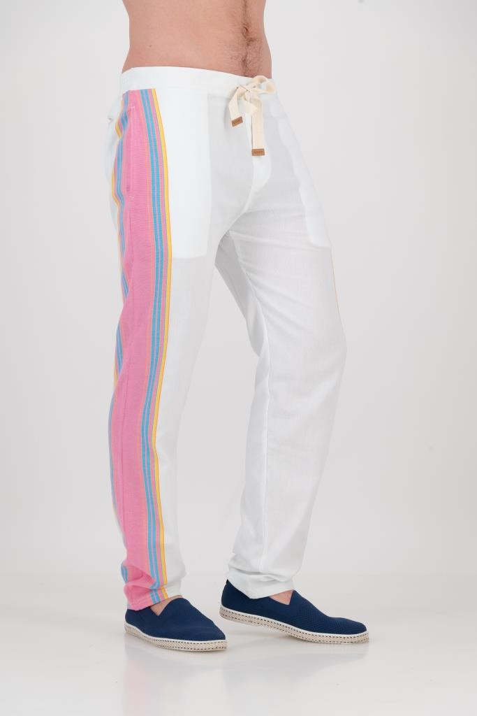 Tailored Fit Trousers - Shell Pink