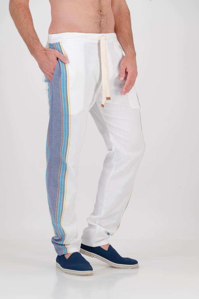 Tailored Fit Trousers - Ocean Breeze